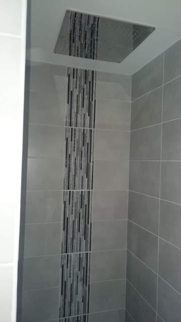 Création de douche à Libourne