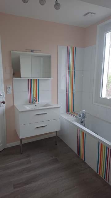 Travaux de salle d'eau à Libourne