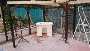 Création d'abri barbecue à Libourne