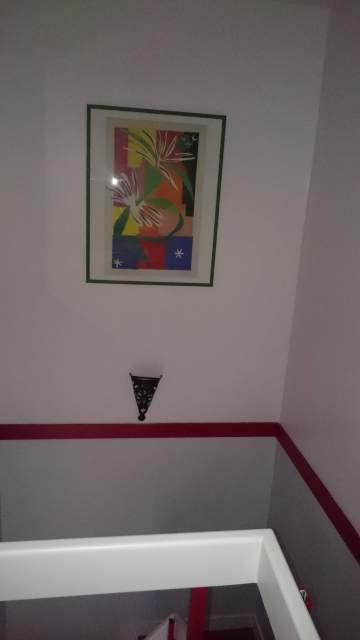 Travaux de peinture en cage d'escalier à Libourne