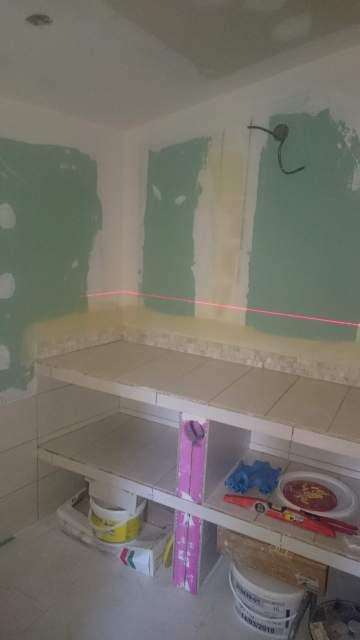 Création de salle d'eau et rénovation de pièce à Libourne