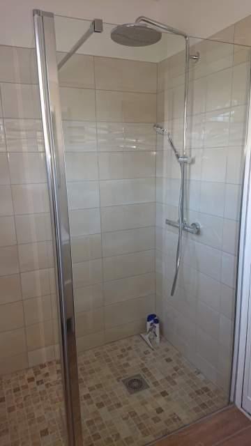 Rénovation de salle d'eau à Puynormand