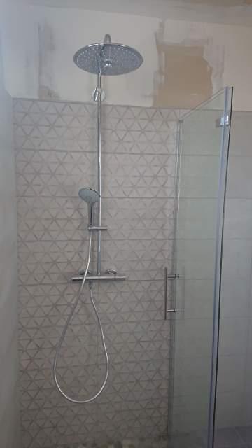 Travaux de salle d'eau à Cap Ferret